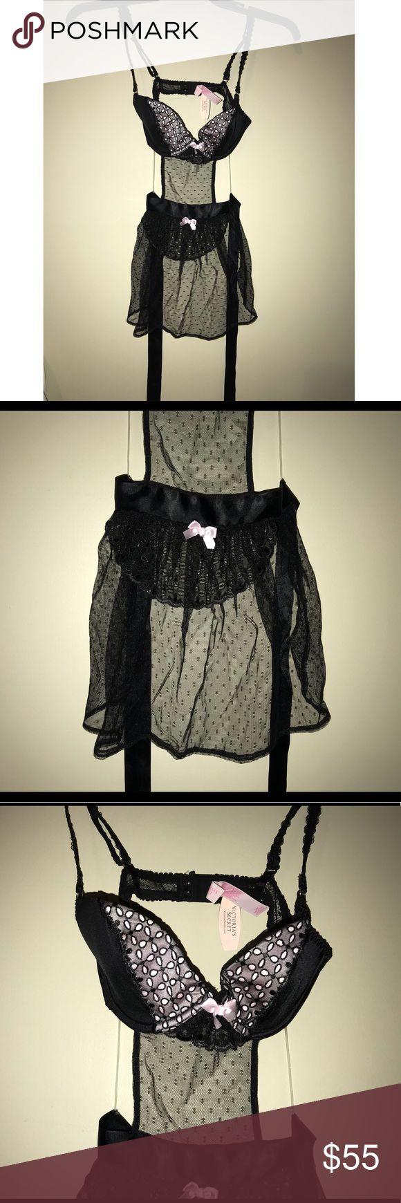 Victoria's Secret Lingerie 34B Brand new Victoria's Secret maid Lingerie size 34B Victoria's Secret Intimates & Sleepwear