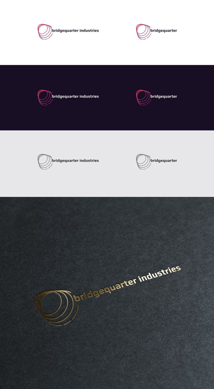 Bridgequarter Industries: inspiring brand marks