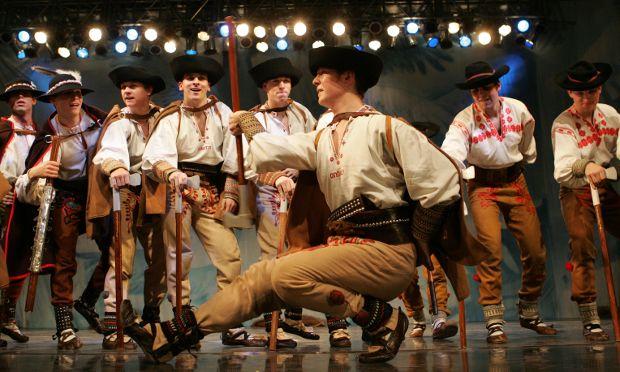Slovak National Folklore Ballet Lúčnica