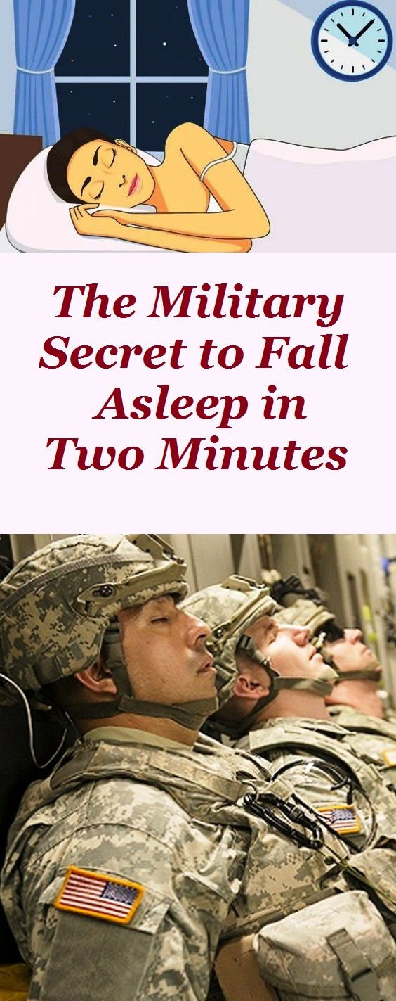 The Military Secret to Fall Asleep in Two Minutes