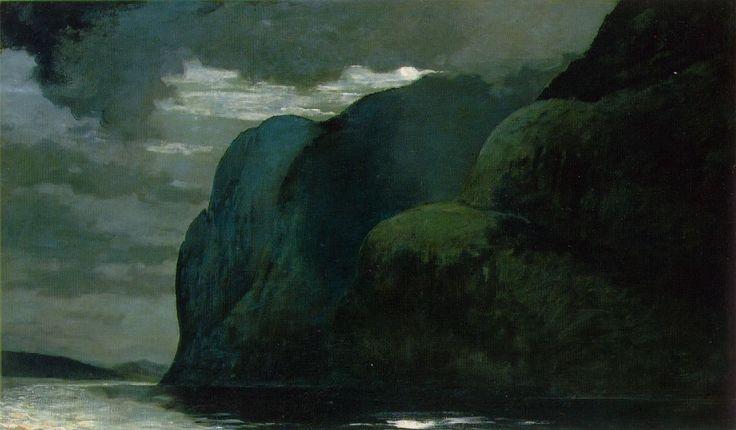 Cape Trinity, Saguenay River (1904-1909)...Winslow Homer