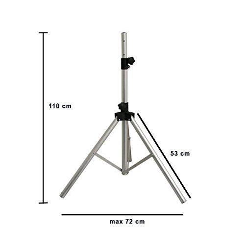 HD-LINE Stativ für Antenne Gleichnis Silber: Amazon.de: Elektronik