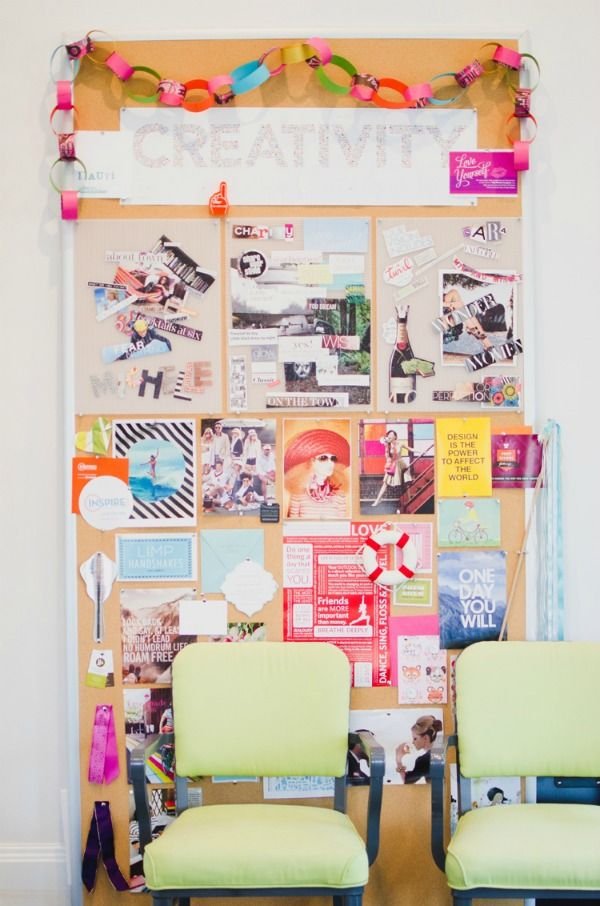 inspiration boards.