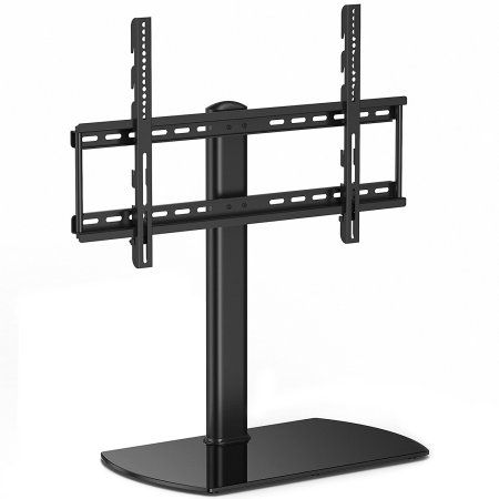 Fitueyes Universal TV Stand Base with Wall Mount for 27 32 34 40 54 60 inch LED LCD Sony Flat screen Tvs TT107001GB, Black