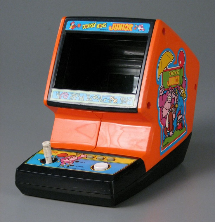 Coleco Donkey Kong Junior Table Top Arcade Games
