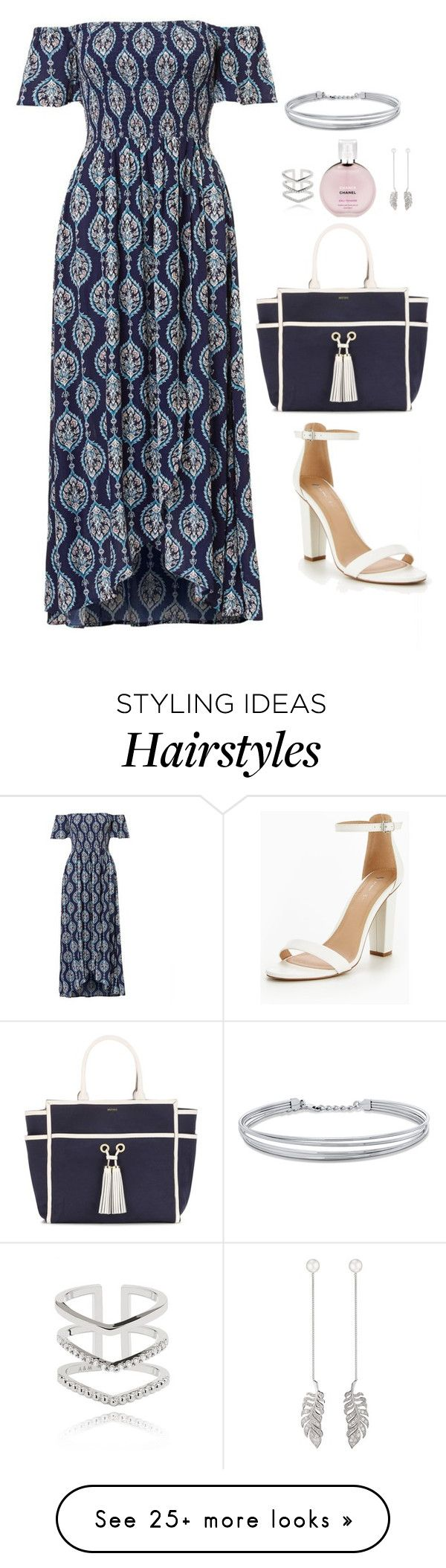 """""""Untitled #633"""" by hayleyl22 on Polyvore featuring Melissa Odabash, Chanel, Axenoff Jewellery, Astrid & Miyu and BERRICLE"""