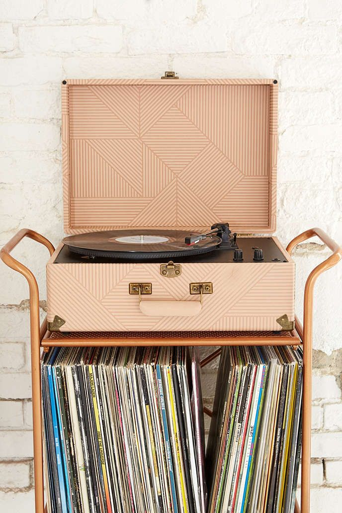 Crosley X UO AV Room Geo Portable USB Vinyl Record Player - Urban Outfitters