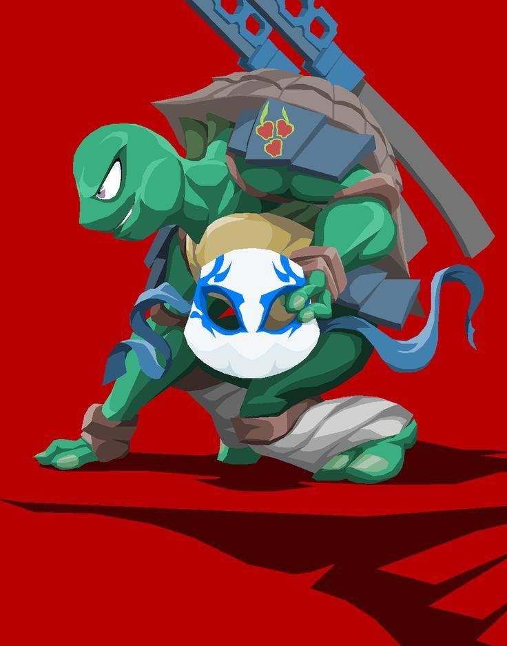 Ninja Turtle Leonardo by Tyrranux on deviantART