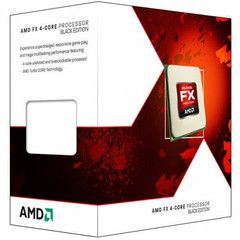 AMD FX 4300 Piledriver Series CPU - 3.8GHz Quad Core, Socket AM3+, 8MB Cache, HyperTransport Bus, AMD64 Support, 3 Year Warranty - 95W
