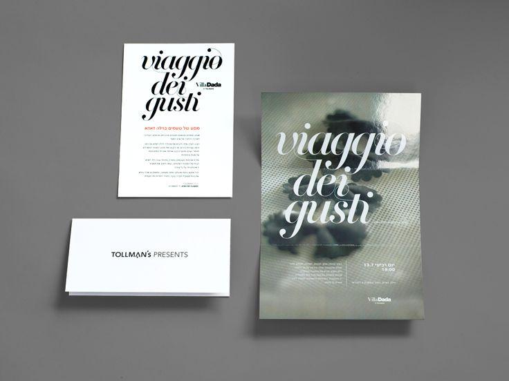 viaggio dei gusti | koniak design.