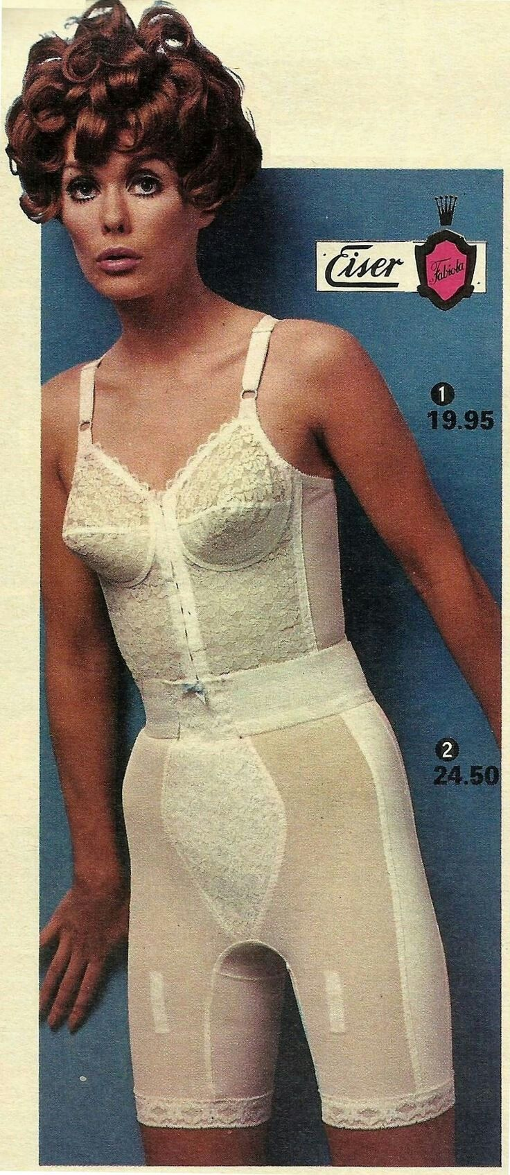 Where the 1960S lingerie Goddess just