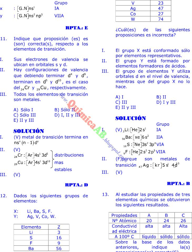 181 best Química images on Pinterest Science, Chemistry and - best of tabla periodica completa para descargar
