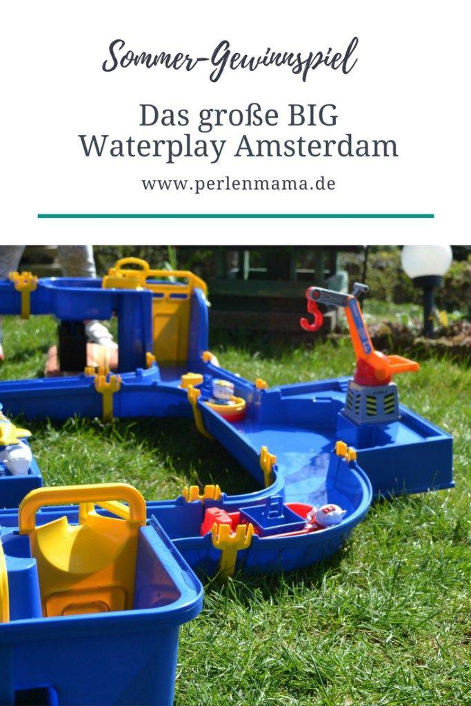Wir haben das BIG Waterplay Set Amsterdam getestet und verlosen nun ein Exemplar an euch. Für Wasserspaß im Garten für klein und groß. Macht schnell mit!