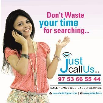 Don't waste your time for searching..... just call us...