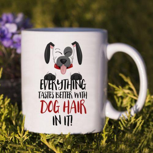 Kubek Dog Hair. Idealny prezent dla każdego posiadacza najlepszego przyjaciela człowieka. #kubek #dog #mug #pies #luxplanet