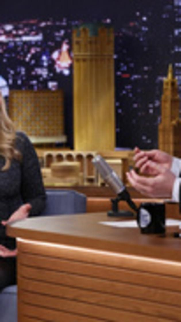 THE TONIGHT SHOW STARRING JIMMY FALLON -- Episode 0024 -- Pictured: (l-r) Chelsea Clinton during an interview with host Jimmy Fallon on March 20, 2014 -- (Photo by: Lloyd Bishop/NBC).. via @AOL_Lifestyle Read more: http://www.aol.com/article/news/2016/11/04/chelsea-clinton-shows-up-in-latest-hillary-clinton-email-dump/21599226/?a_dgi=aolshare_pinterest#fullscreen