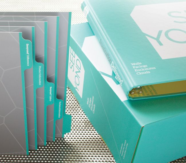Corporate Image: Custom Printed 3-ring Binders, Pocket