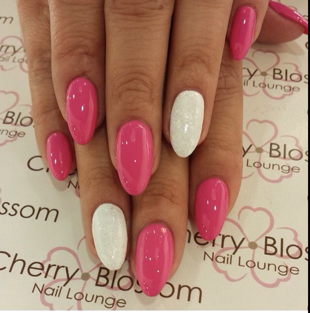 Ecbasket Acrylic Nail Tips Natural Fake Nails Short Oval: 1000+ Ideas About Oval Acrylic Nails On Pinterest