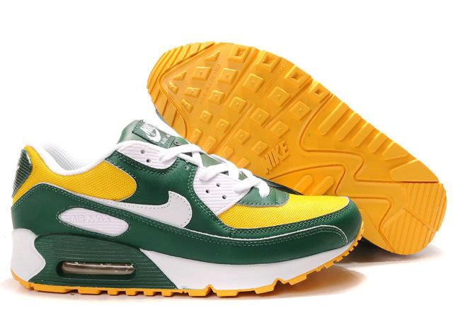 half off 8be89 d0eb3 Ken Griffey Shoes Nike Air Max 90 Green Yellow White  Nike Air Max 90 -  Lots of people will be fascinated by you if you wear a pair of charming and  ...