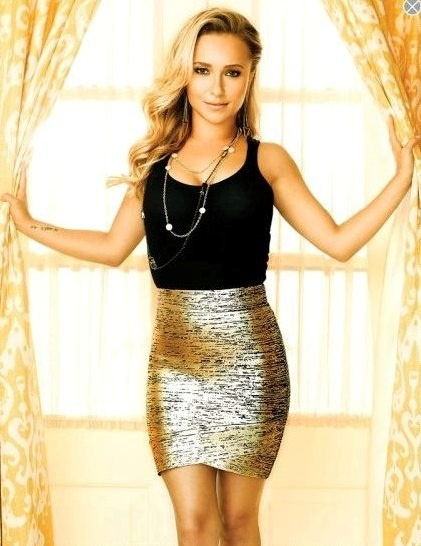Hayden Panettiere.  Nashville made me love her for the first time everrr.