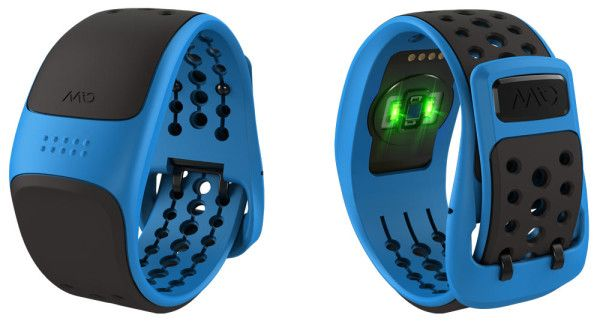 Mio Velo heart rate monitor wristband for cyclists