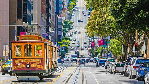 San Francisco's charming trams #usa #sanfran #tram #street #kilroy