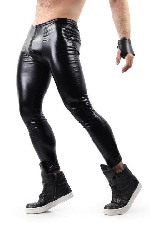 05042d44a173 Liquid Leggings Glossy Black   Leather pants   Black outfit men ...