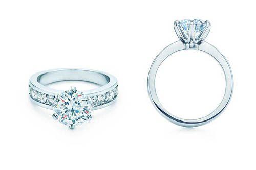 Gli anelli di fidanzamento più belli Tiffany Cartier Damiani