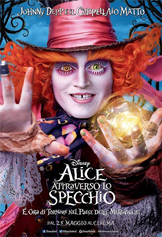 Alice attraverso lo specchio ‬ #AliceinWonderland #AliceThroughtheLookingGlass