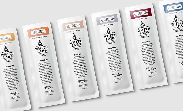 Noted: New Logo and Packaging for White Labs by MiresBall