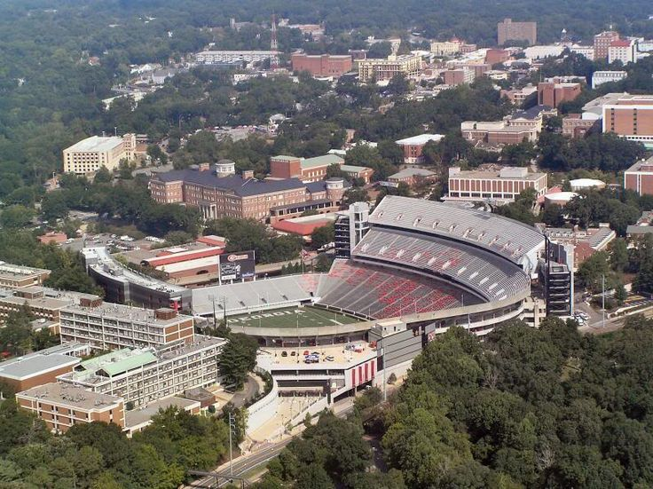 The University of Georgia is the oldest public university in the U.S. It is the largest university in GA, with over 759 acres. It is located in Athens, GA and ranks #20 among all public national universities in the U.S. Its home to the record breaking college football team, the Bulldogs.