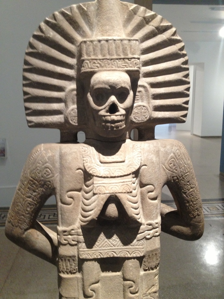 Aztec god of death. | Dia de Muertos | Pinterest | Aztec ...