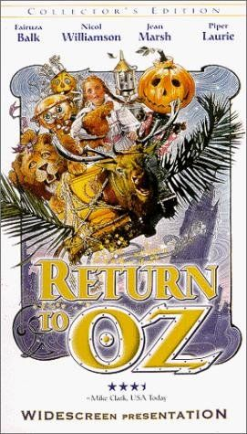 Return to Oz- easily one of the top five terrifying movies of childhood. Was never the same afterwards.