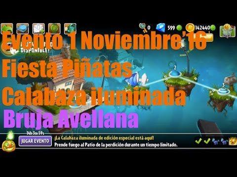 Plants vs Zombies 2 - Evento/Plantas Edición Especial - 1 Noviembre'16 -...