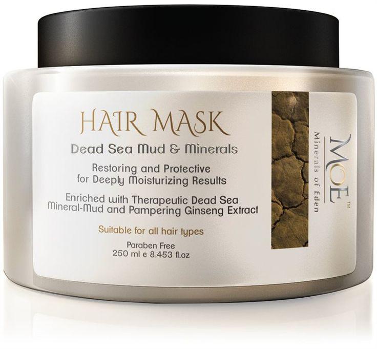 Minerals of Eden Hair Mask Dead Sea Mud & Minerals 250ml fra BliVakker. Om denne nettbutikken: http://nettbutikknytt.no/blivakker-no/