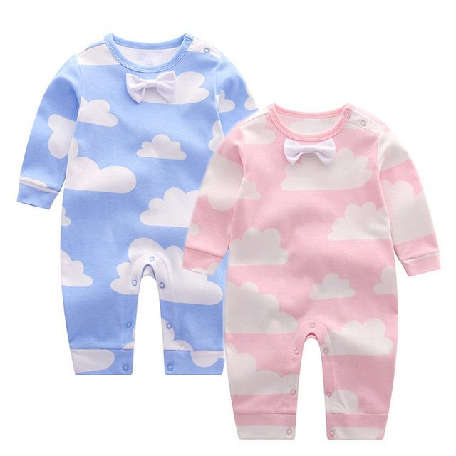 Check lastest price Long Sleeve Baby Romper Cotton Bow Clouds Newborn Baby Clothes Spring Autumn Infant Girls Costume Toddler Boys Rompers just only $12.53 with free shipping worldwide  #babygirlsclothing Plese click on picture to see our special price for you