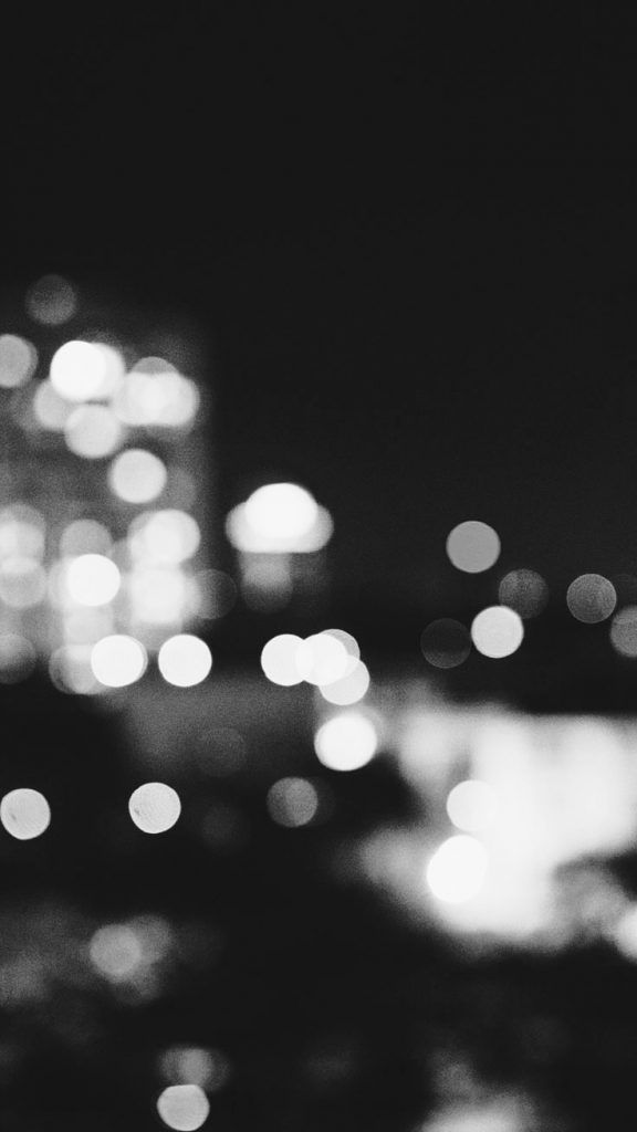 BW City Lights ★ Preppy Original 31 Free HD iPhone 7 & 7 Plus Wallpapers