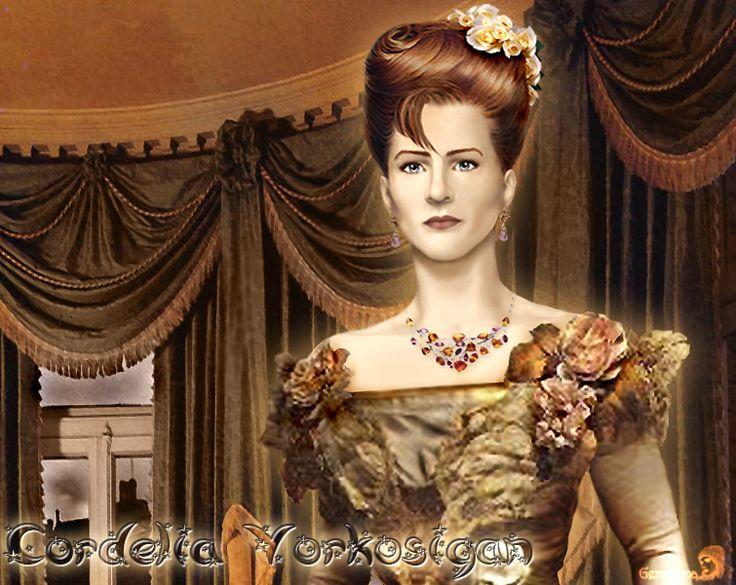 Cordelia Vorkosigan by gemmiona.deviantart.com on @deviantART