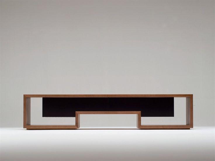 Mobile TV in legno ATILLA Collezione Atilla by Conde House Europe | design Atilla Kuzu