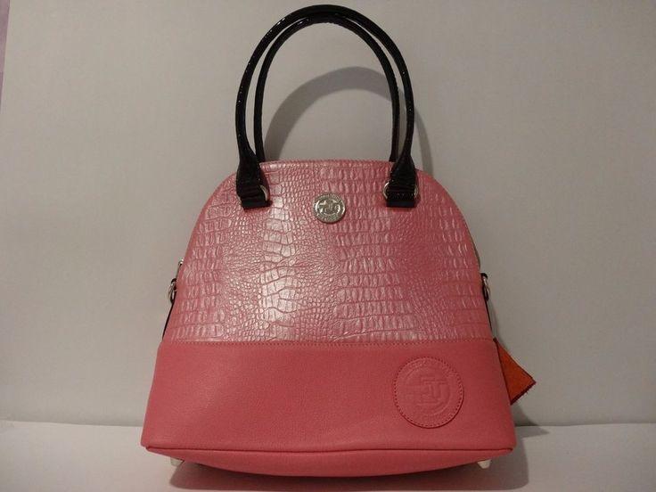NWT The Colombian Technique Designer Leather Satchel Handbag Light Pink/Pink #TheColombianTechnique #Satchel