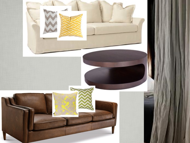 Choosing a leather sofa and coffee table to work with an existing Verellen Camille sofa