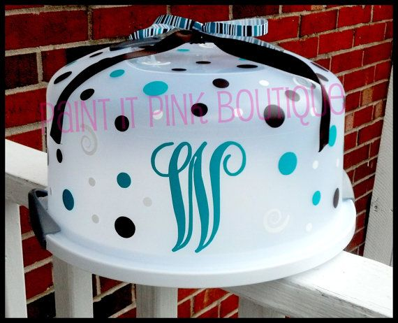 1000 Images About Vinyl Cake Carriers On Pinterest