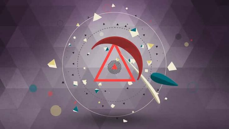 Motion Shapes - 2D 3D  Animated Elements [ Motion Graphics ]