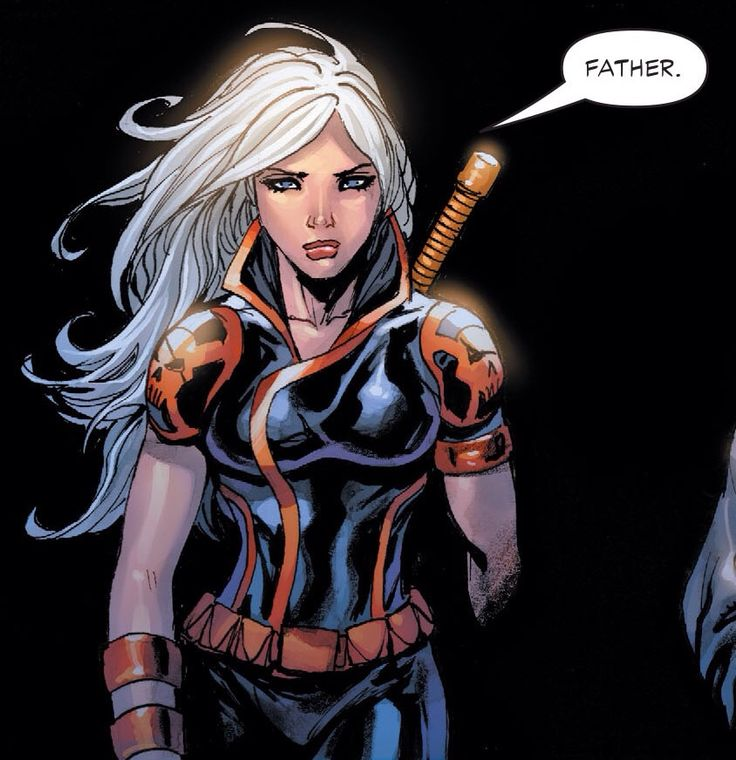 She is the highly trained warrior daughter of Deathstroke and Lillian Worth.