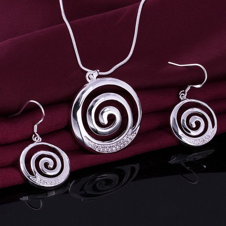 Be special: 925 sterling silver fashion jewelry white round cy...
