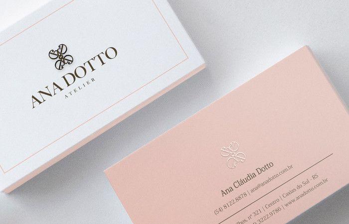 Design Gráfico: Cartões de Visita