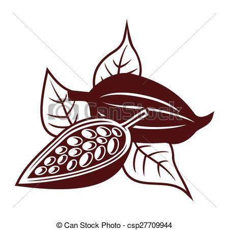 Vector - cacao - stock de ilustracion, ilustracion libre de, stock de iconos de clip art, logo, arte lineal, retrato de EPS, Retratos, gráficos, dibujos gráficos, dibujos, imágenes vectoriales, trabajo artístico, Arte Vectorial en EPS