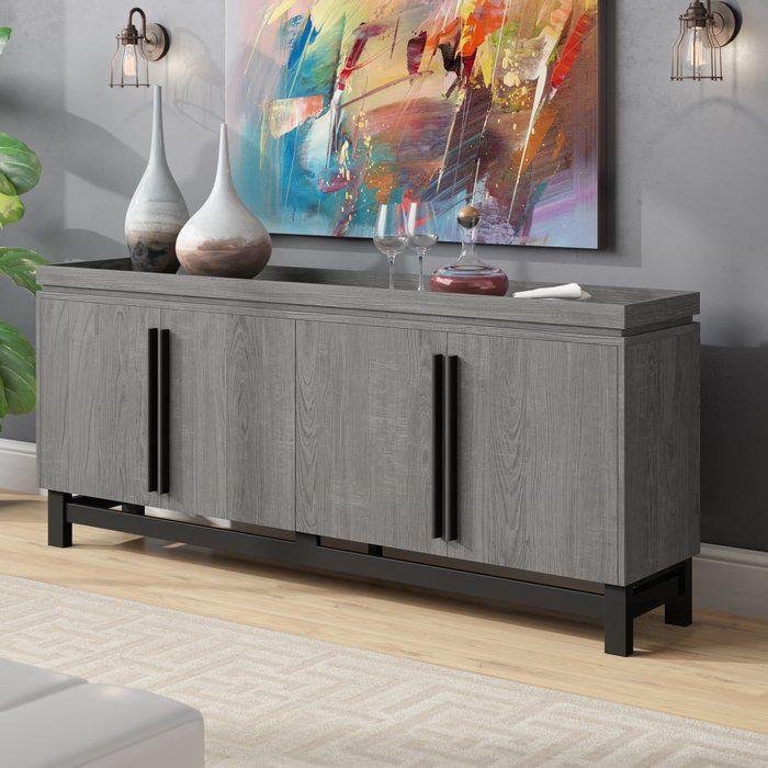 Eltingville Sideboard Furniture Modern Buffet Table Home Decor
