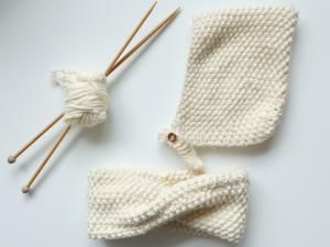 DIY : UN SNOOD TRICOTÉ AU POINT DE RIZ • Hellocoton.fr