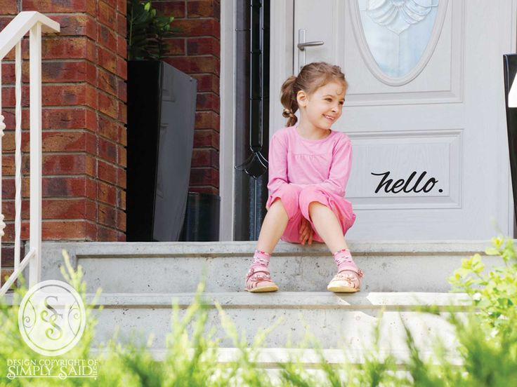 """hello"" | Simply Said Designs www.mysimplysaiddesigns.com/HEATHDECOR"